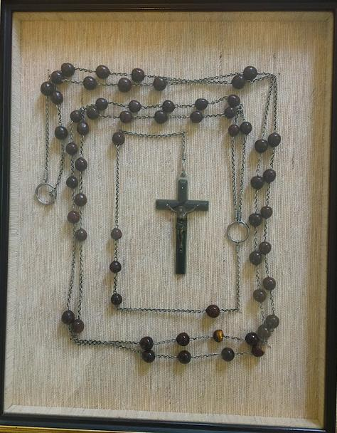 rosary beads, catholic nun, Sr. Mary Clarine