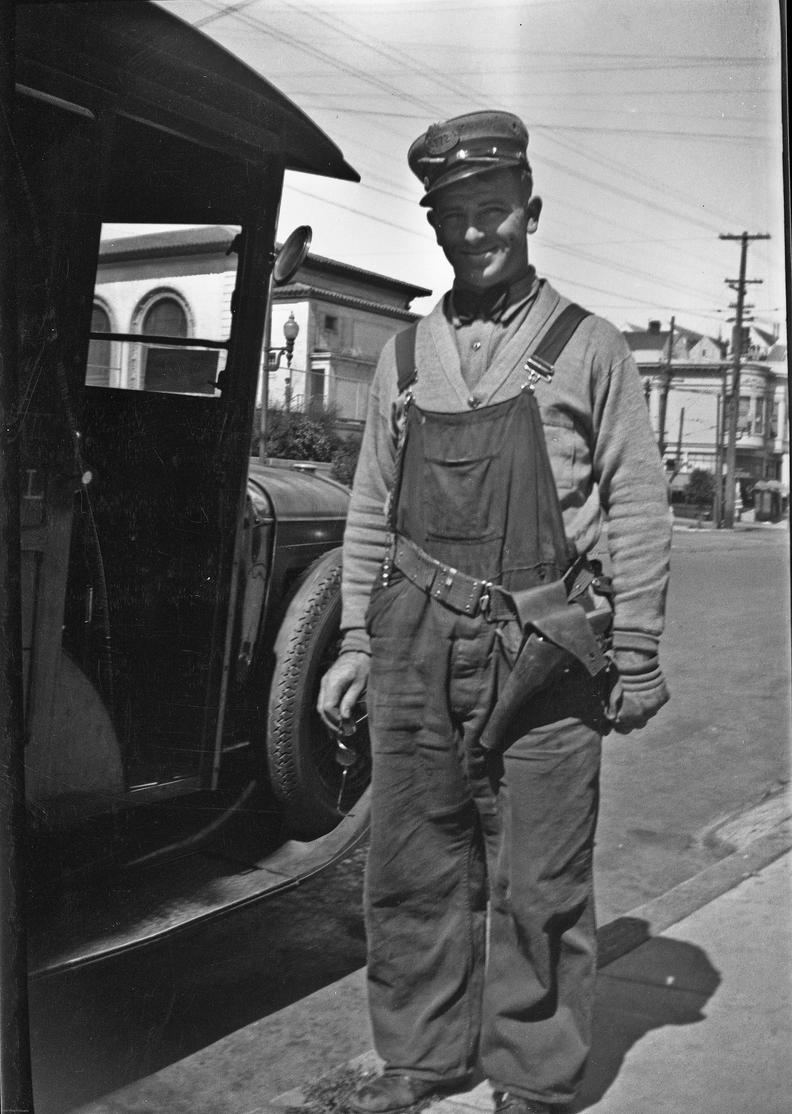 maurice Murphy, Post Office, San Francisco